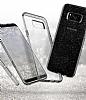 Spigen Liquid Crystal Glitter Samsung Galaxy S8 Space Quartz Kılıf - Resim 2