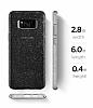 Spigen Liquid Crystal Glitter Samsung Galaxy S8 Space Quartz Kılıf - Resim 4