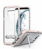 Spigen Crystal Hybrid Samsung Galaxy S8 Pembe Kılıf - Resim 5