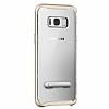 Spigen Crystal Hybrid Samsung Galaxy S8 Gold Maple Kılıf - Resim 5
