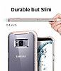 Spigen Crystal Hybrid Samsung Galaxy S8 Pembe Kılıf - Resim 2