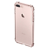 Spigen Crystal Shell iPhone 7 Plus / 8 Plus Rose Gold Kılıf - Resim: 4