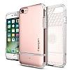 Spigen Flip Armor iPhone 7 / 8 Rose Gold Kılıf - Resim 6