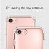 Spigen Flip Armor iPhone 7 / 8 Rose Gold Kılıf - Resim 7