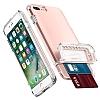 Spigen Flip Armor iPhone 7 / 8 Rose Gold Kılıf - Resim 3