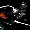 Spigen Hızlı Araç Şarj Cihazı Çift Girişli USB Qualcomm 3.0 - Resim 2