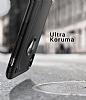 Spigen Hybrid Armor iPhone X Ultra Koruma Siyah Kılıf - Resim 1