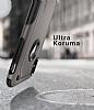 Spigen Hybrid Armor iPhone X / XS Ultra Koruma Gunmetal Kılıf - Resim 1