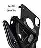 Spigen Hybrid Armor iPhone X Ultra Koruma Siyah Kılıf - Resim 5