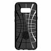 Spigen Liquid Air Armor Samsung Galaxy S8 Plus Siyah Silikon Kılıf - Resim 5