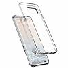 Spigen Liquid Crystal Glitter Samsung Galaxy S8 Plus Crystal Quartz Kılıf - Resim 4