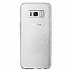 Spigen Liquid Crystal Glitter Samsung Galaxy S8 Plus Crystal Quartz Kılıf - Resim 2