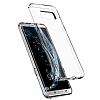 Spigen Liquid Crystal Samsung Galaxy S8 Şeffaf Silikon Kılıf - Resim 1