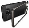 Spigen Neo Hybrid Carbon Samsung Galaxy S6 Edge Plus Gunmetal Kılıf - Resim 1