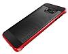 Spigen Neo Hybrid Carbon Samsung Galaxy S6 Edge Plus Kırmızı Kılıf - Resim 4