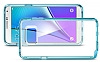 Spigen Neo Hybrid Crystal Samsung Galaxy Note 5 Mavi Kılıf - Resim 3