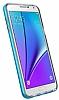 Spigen Neo Hybrid Crystal Samsung Galaxy Note 5 Mavi Kılıf - Resim 4