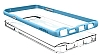 Spigen Neo Hybrid Crystal Samsung Galaxy Note 5 Mavi Kılıf - Resim 1