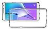Spigen Neo Hybrid Crystal Samsung Galaxy Note 5 Silver Kılıf - Resim 3