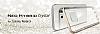 Spigen Neo Hybrid Crystal Samsung Galaxy Note 5 Silver Kılıf - Resim 7