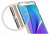 Spigen Neo Hybrid Crystal Samsung Galaxy Note 5 Silver Kılıf - Resim 6