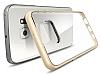 Spigen Neo Hybrid Crystal Samsung Galaxy S6 Edge Plus Gold Kılıf - Resim 2