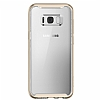 Spigen Neo Hybrid Crystal Samsung Galaxy S8 Plus Gold Maple Silikon Kılıf - Resim 4