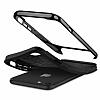 Spigen Neo Hybrid Herringbone iPhone 7 / 8 Shiny Black Kılıf - Resim 4