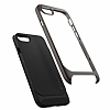 Spigen Neo Hybrid Herringbone iPhone 7 / 8 Gun Metal Kılıf - Resim 3
