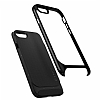 Spigen Neo Hybrid Herringbone iPhone 7 Plus / 8 Plus Shiny Black Kılıf - Resim 4