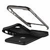 Spigen Neo Hybrid Herringbone iPhone 7 Plus / 8 Plus Gun Metal Kılıf - Resim 4