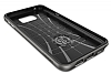 Spigen Neo Hybrid Carbon Samsung Galaxy Note 5 Gunmetal Kılıf - Resim 3
