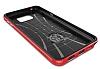 Spigen Neo Hybrid Carbon Samsung Galaxy Note 5 Kırmızı Kılıf - Resim 3