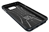 Spigen Neo Hybrid Carbon Samsung Galaxy Note 5 Koyu Mavi Kılıf - Resim 2