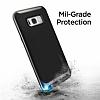 Spigen Neo Hybrid Samsung Galaxy S8 Plus Ultra Koruma Gunmetal Kılıf - Resim 6