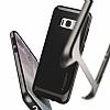 Spigen Neo Hybrid Samsung Galaxy S8 Plus Ultra Koruma Gunmetal Kılıf - Resim 2