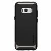 Spigen Neo Hybrid Samsung Galaxy S8 Ultra Koruma Gunmetal Kılıf - Resim 1