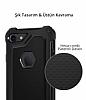 Spigen Rugged Armor Extra iPhone 7 / 8 Siyah Kılıf - Resim 6