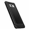 Spigen Rugged Armor Extra Samsung Galaxy S8 Siyah Kılıf - Resim 4