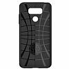 Spigen Rugged Armor LG G6 Siyah Silikon Kılıf - Resim 4