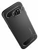 Spigen Rugged Capsule Samsung Galaxy S6 Edge Plus Siyah Kılıf - Resim 3