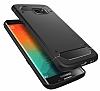 Spigen Rugged Capsule Samsung Galaxy S6 Edge Plus Siyah Kılıf - Resim 2