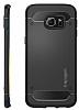 Spigen Rugged Capsule Samsung Galaxy S6 Edge Plus Siyah Kılıf - Resim 4