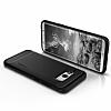 Spigen Rugged Armor Samsung Galaxy S8 Siyah Silikon Kılıf - Resim 3