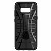 Spigen Rugged Armor Samsung Galaxy S8 Siyah Silikon Kılıf - Resim 7