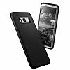 Spigen Liquid Air Armor Samsung Galaxy S8 Siyah Silikon Kılıf - Resim 2