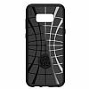 Spigen Liquid Air Armor Samsung Galaxy S8 Siyah Silikon Kılıf - Resim 5