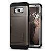 Spigen Slim Armor CS Samsung Galaxy S8 Gunmetal Kılıf - Resim 8