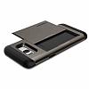 Spigen Slim Armor CS Samsung Galaxy S8 Gunmetal Kılıf - Resim 2