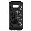 Spigen Slim Armor CS Samsung Galaxy S8 Gunmetal Kılıf - Resim 6